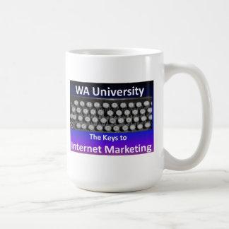 Key to Internet Marketing Basic White Mug