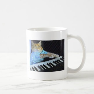 Keyboard Cat Coffe Mug! Basic White Mug