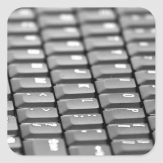 Keyboard Square Sticker