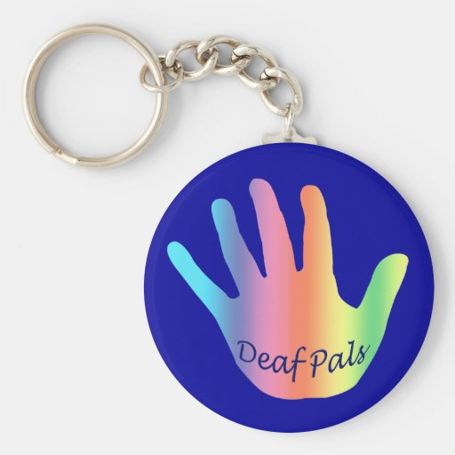 Keychain for Deaf Pals