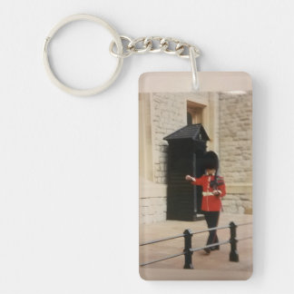 Keychain of a working Guard at the Tower of London