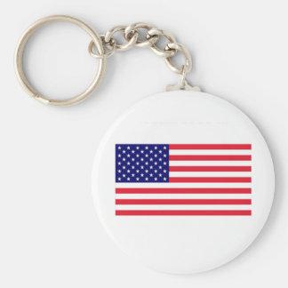 Keychain_USA Key Ring