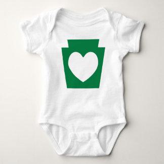 Keystone Heart - Infant Creeper