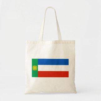 khakasiya flag russia country republic region budget tote bag