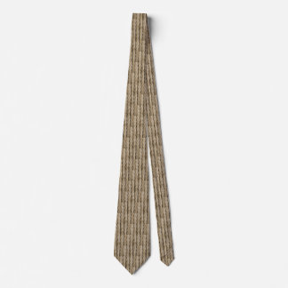 Khaki Steel Cable Pattern Tie