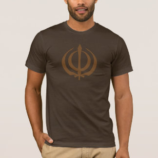 Khanda-Brown T-Shirt