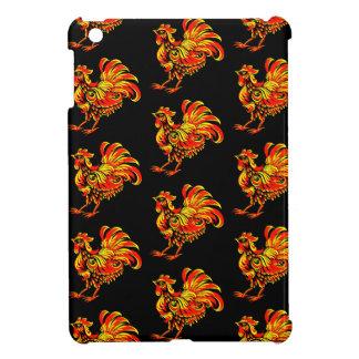 Khokhloma rooster case for the iPad mini