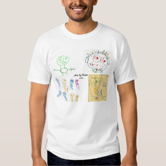Kian's artwork t-shirts