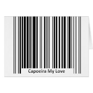 kick capoeira card love greeting