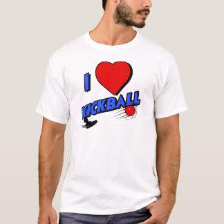 kickball, blue T-Shirt