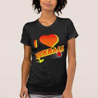 KICKBALL, sunset color T Shirts