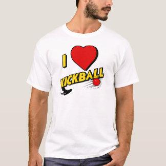 kickball, yellow T-Shirt