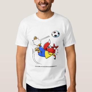 kicking fox tee shirt