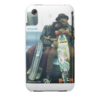 Kickpush - Young Love iPhone II iPhone 3 Case-Mate Cases