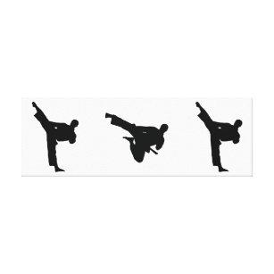 Karate Martial Arts Kick Posters & Photo Prints | Zazzle NZ