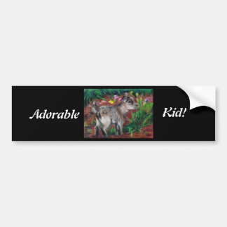Kid aceo Bumper Sticker