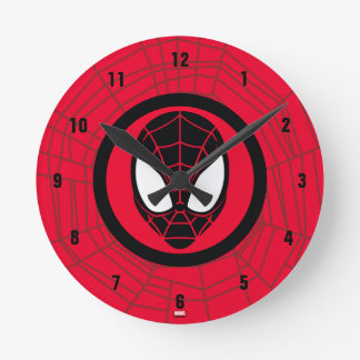 Kid Arachnid Icon Wall Clock