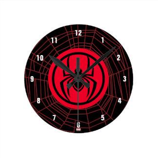 Kid Arachnid Logo Clock