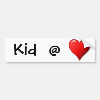 Kid @ Heart Bumper Stickers