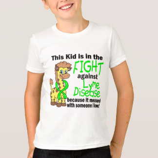 Kid In The Fight Against Lyme Disease T-Shirt