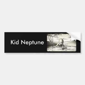 Kid Neptune Bumper Sticker