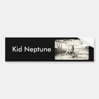 Kid Neptune Bumper Sticker