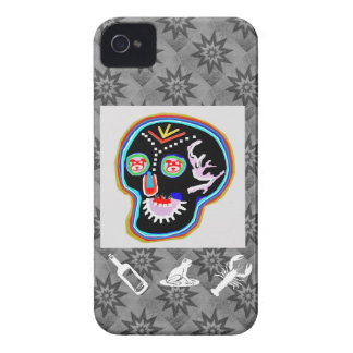 KID Stuff Smiling Ghost n Friendly Frog Case-Mate iPhone 4 Case