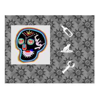 KID Stuff : Smiling Ghost n Friendly Frog Postcard