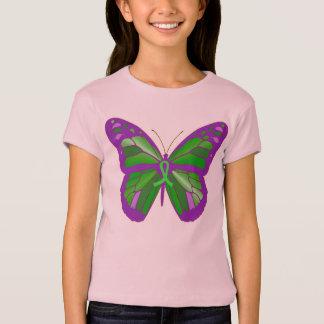 Kids 4 Lyme Disease  Butterfly Awareness Shirt