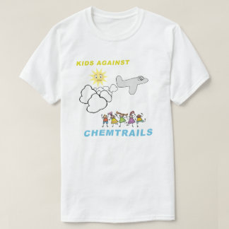 Kids Against Chemtrails T-shirts
