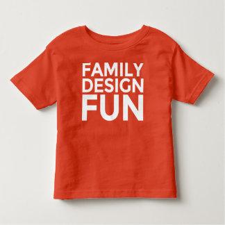 Kid's Apparel - Family Design Fun FDF Toddler T-Shirt