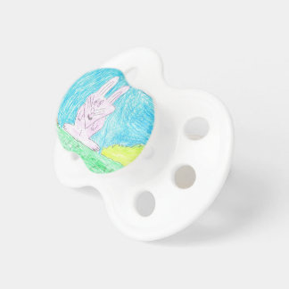 Kid's Art Collection - Bunny Baby Pacifier