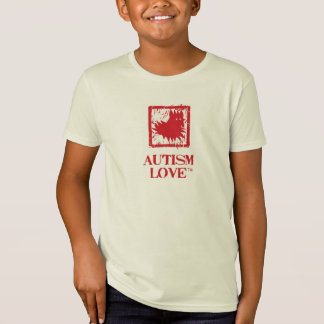 Kid's Autism Love Fan Shirt