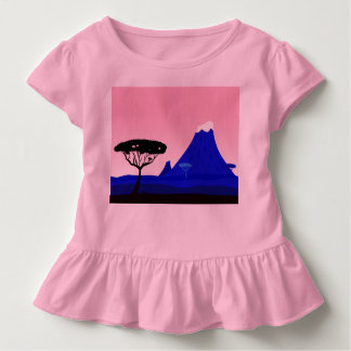 Kids baby body with Tanzania Toddler T-Shirt