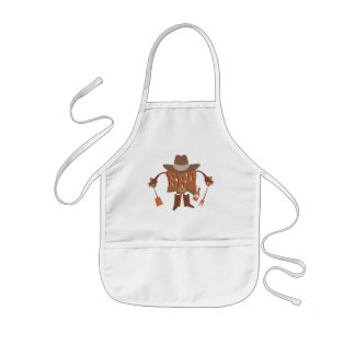 KIDS BBQ APRON. PERSONALISE WITH NAME OR OTHER KIDS APRON
