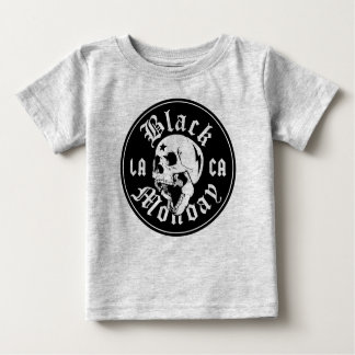 Kids Black Monday shirt