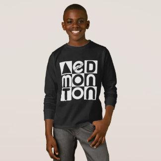 Kids Edmonton Puzzle Long Sleeve T-shirt