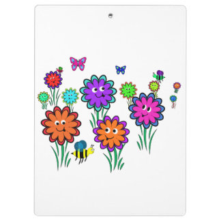 Kids Flower Clipboard