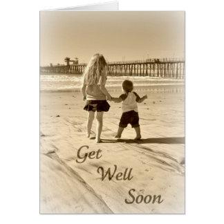 Kids Get Well Soon Greeting Card
