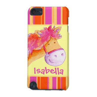 Kids girls named pony yellow ipod case iPod touch 5G covers