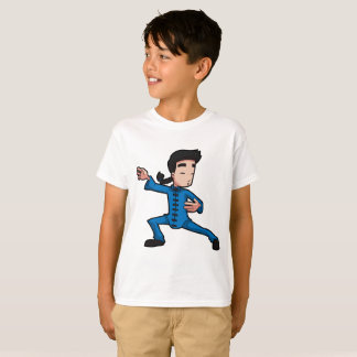 Kids' Hanes TAGLESS® T-Shirt kung fu Short sleeve