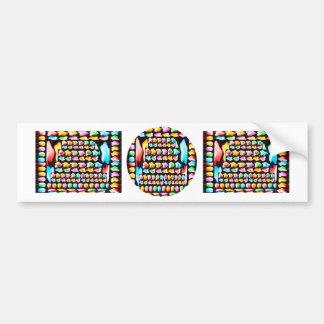 KIDS Happy Birthday Collection 2011 Jan 8 Bumper Stickers