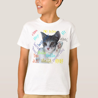 Kids' Hello Around the World Hanes T-Shirt