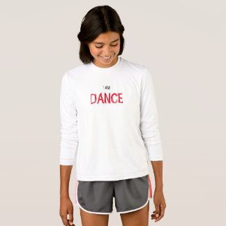 "Kids' "" I AM DANCE"" Competitor Long Sleeved Shirt"