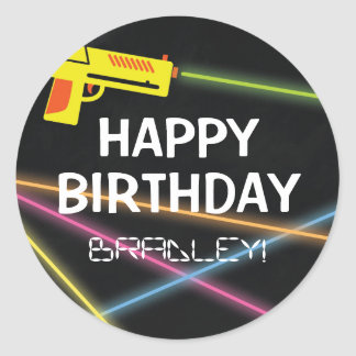 KIDS LASER TAG BIRTHDAY PARTY
