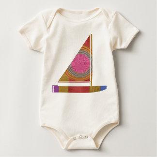 KIDS love SAIL Boat Baby Bodysuit