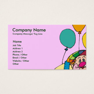 224 clown entertainer business cards and clown entertainer business kids party clown entertainer business card colourmoves