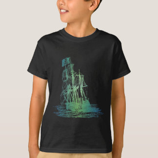 Kids Pirate Ship T-Shirt
