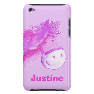 Kids pony purple girls name ipod case iPod Case-Mate case