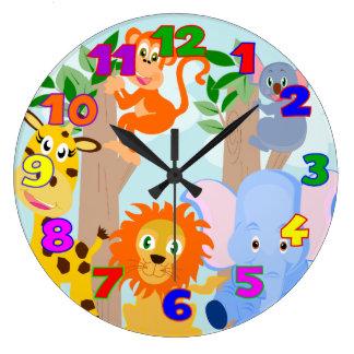 kid's room large clock